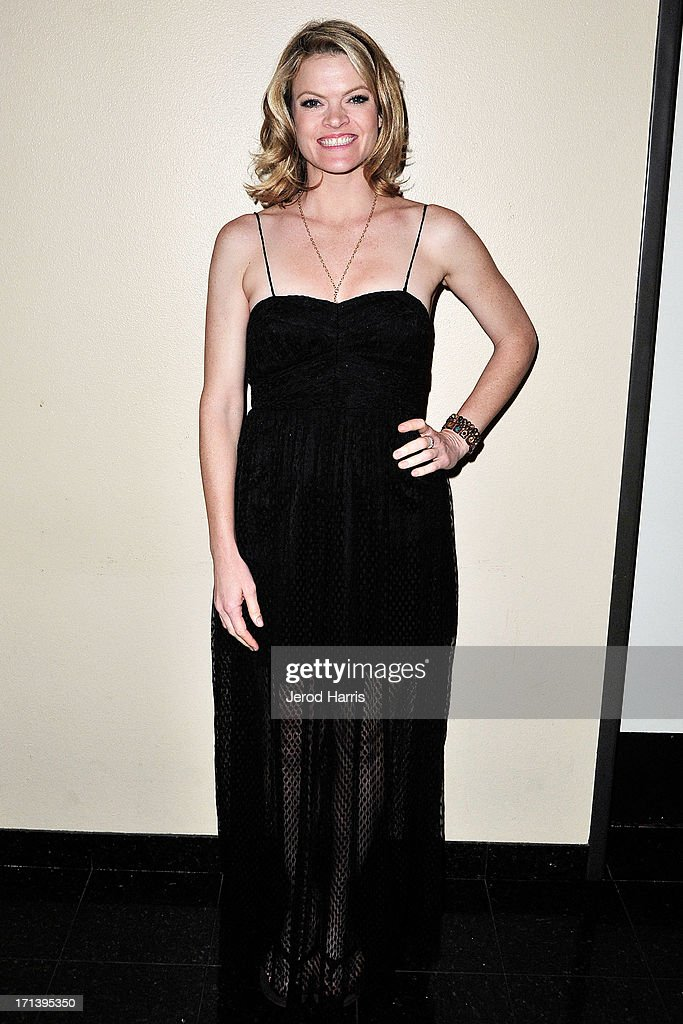 Actress Missi Pyle attends the Palm Springs ShortFest closing night gala on June 23, 2013 in Palm Springs, California.