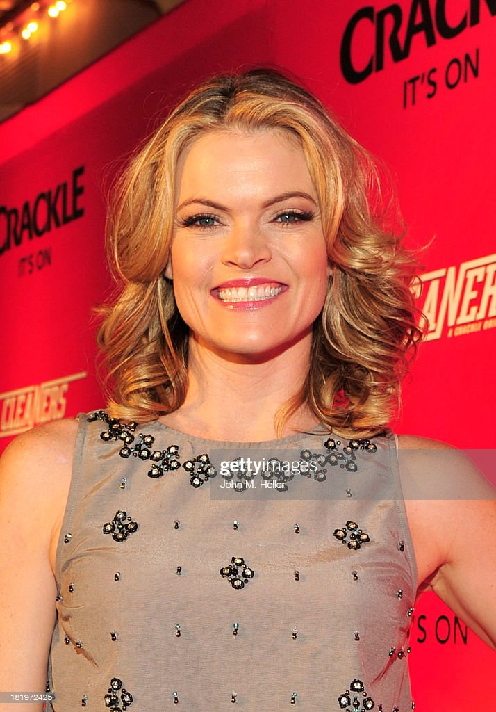 Actress <a gi-track='captionPersonalityLinkClicked' href=/galleries/search?phrase=Missi+Pyle&family=editorial&specificpeople=226554 ng-click='$event.stopPropagation()'>Missi Pyle</a> attends the premiere of Crackle's new original digital series 'Cleaners' at the Cary Grant Theater on the Sony Pictures Studio lot on September 26, 2013 in Culver City, California.