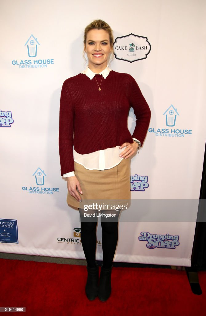Actress Missi Pyle attends the premiere of Glass House Distributions' 'Dropping The Soap' at Writers Guild Theater on March 7, 2017 in Beverly Hills, California.