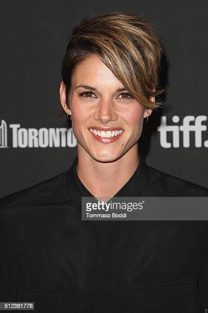 Actress Missy Peregrym attends the 3rd Annual 'An Evening With Canada's Stars' held at the Four Seasons Hotel Los Angeles at Beverly Hills on...