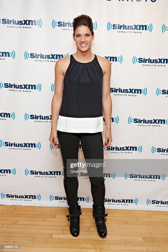 Actress <a gi-track='captionPersonalityLinkClicked' href=/galleries/search?phrase=Missy+Peregrym&family=editorial&specificpeople=592561 ng-click='$event.stopPropagation()'>Missy Peregrym</a> visits the SiriusXM Studios on May 28, 2013 in New York City.