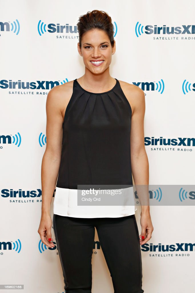 Actress Missy Peregrym visits the SiriusXM Studios on May 28, 2013 in New York City.