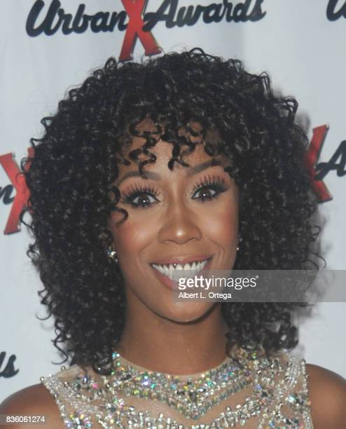 Actress Misty Stone arrives for the 6th Urban X Awards held at Stars On Brand on August 20 2017 in Glendale California