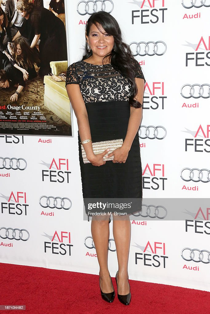 Actress Misty Upham attends The Los Angeles Times Young Hollywood Roundtable during AFI FEST 2013 presented by Audi at TCL Chinese Theatre on November 8, 2013 in Hollywood, California.