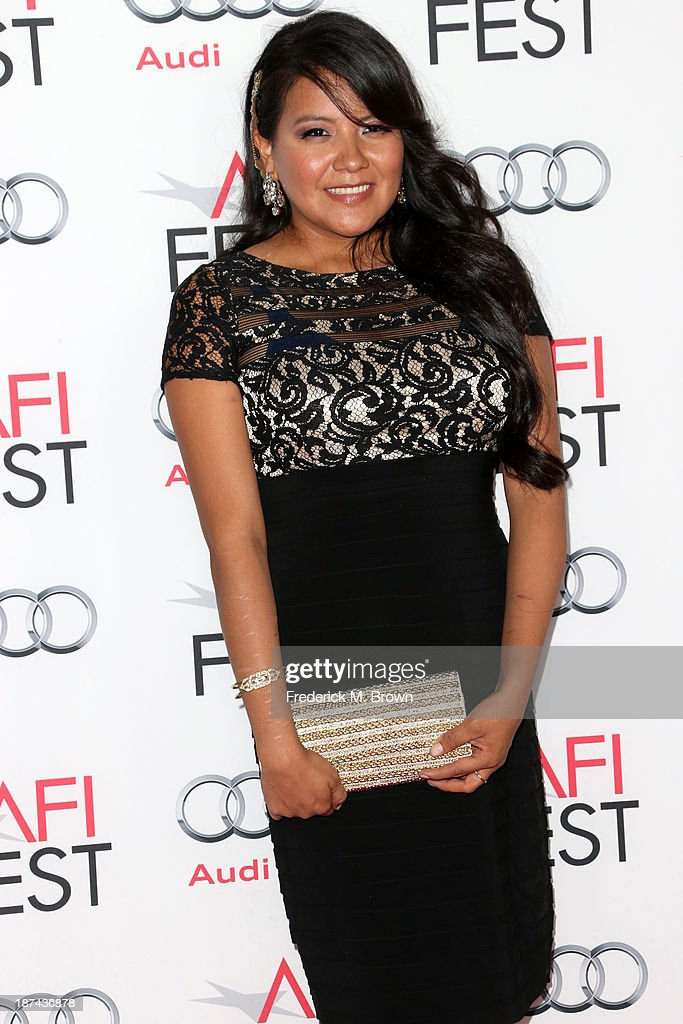 Actress <a gi-track='captionPersonalityLinkClicked' href=/galleries/search?phrase=Misty+Upham&family=editorial&specificpeople=4835047 ng-click='$event.stopPropagation()'>Misty Upham</a> attends The Los Angeles Times Young Hollywood Roundtable during AFI FEST 2013 presented by Audi at TCL Chinese Theatre on November 8, 2013 in Hollywood, California.