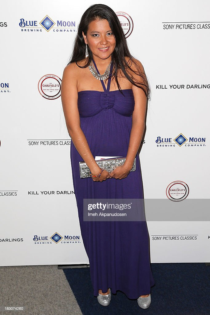 Actress Misty Upham attends the premiere of Sony Pictures Classics' 'Kill Your Darlings' at Writers Guild Theater on October 3, 2013 in Beverly Hills, California.