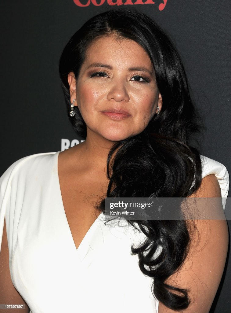Actress <a gi-track='captionPersonalityLinkClicked' href=/galleries/search?phrase=Misty+Upham&family=editorial&specificpeople=4835047 ng-click='$event.stopPropagation()'>Misty Upham</a> attends the Premiere of The Weinstein Company's 'August: Osage County' at Regal Cinemas L.A. Live on December 16, 2013 in Los Angeles, California.