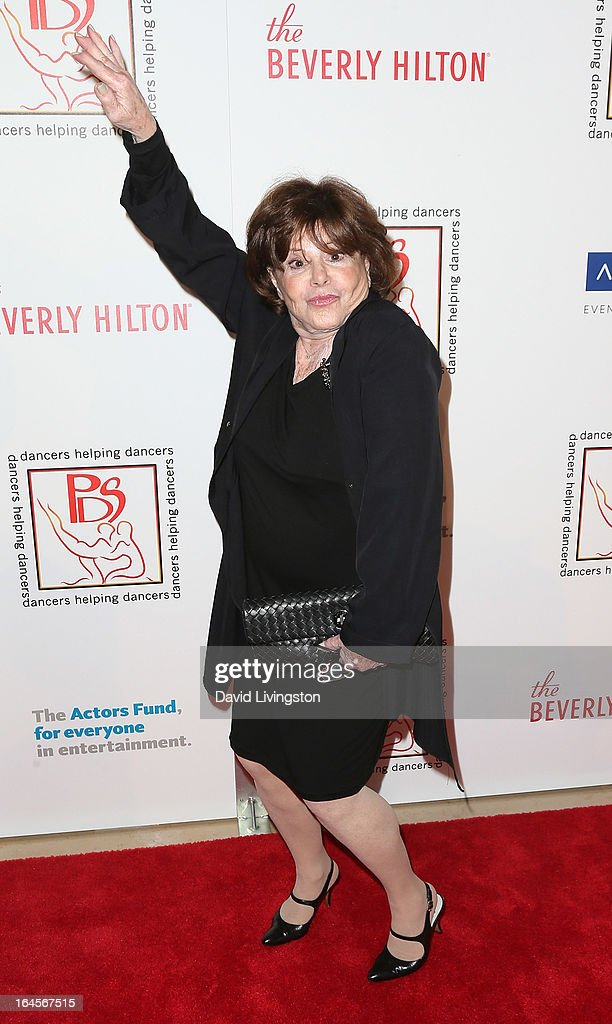 Actress Mitzi McCall attends the Professional Dancers Society's Gypsy Awards Luncheon at The Beverly Hilton Hotel on March 24, 2013 in Beverly Hills, California.