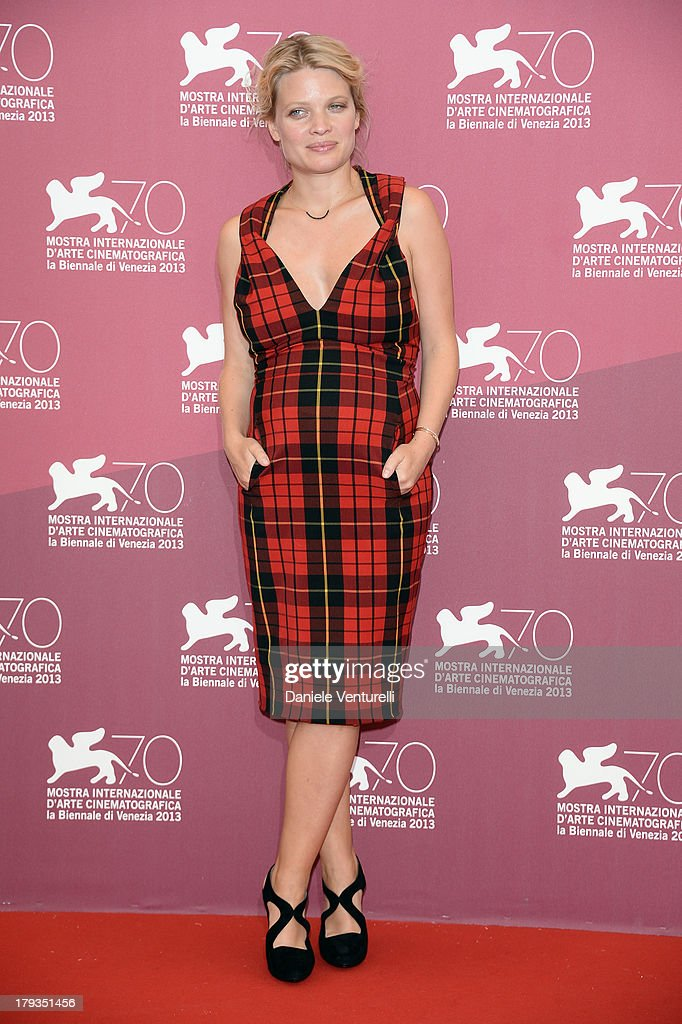 Actress Mélanie Thierry attends 'The Zero Theorem' Photocall during the 70th Venice International Film Festival at Palazzo del Casino on September 2, 2013 in Venice, Italy.