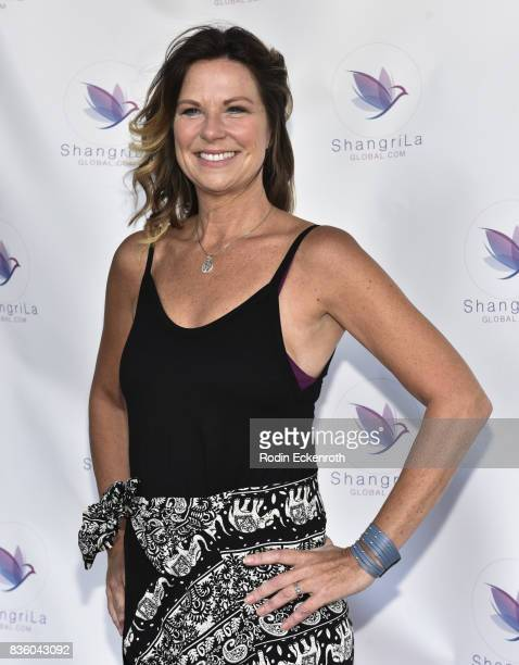 Actress Mo Collins attends the ShangriLa global launch and popup store on August 20 2017 in Beverly Hills California