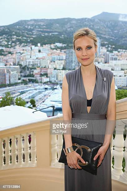 Actress Moa Gammel attends the 55th Monte Carlo TV Festival Day 3 on June 15 2015 in MonteCarlo Monaco