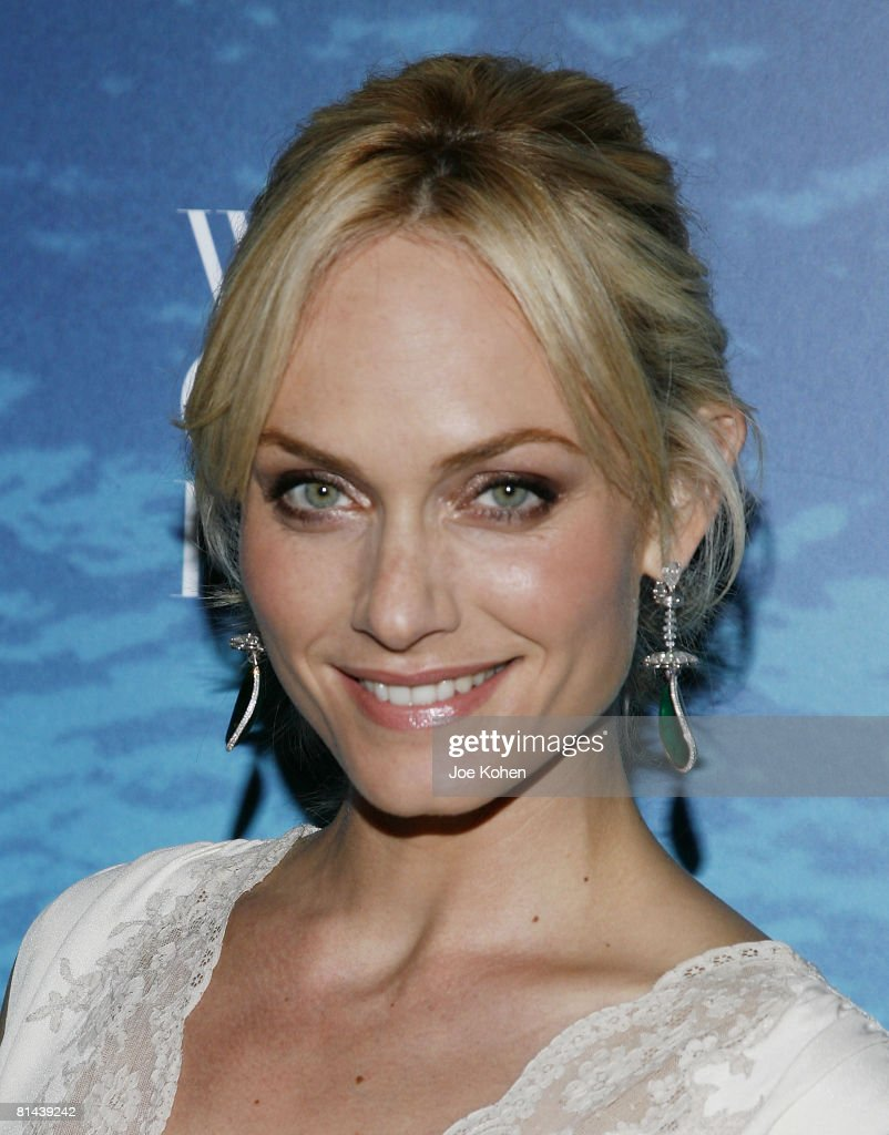 Actress / Model Amber Valletta attends the 2008 World Ocean Day hosted by La Mer and Oceana on June 4 2008 at Rockefeller Center in New York
