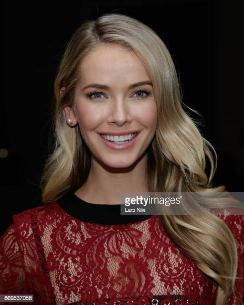 Actress model and Miss USA 2015 Olivia Jordan attends the SI Swimsuit 2018 Model Search celebration and preview of the Sports Illustrated Swim and...