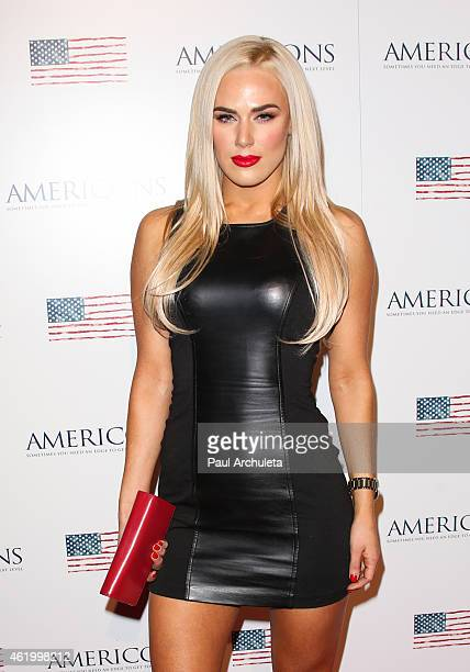 Actress / Model CJ Perry attends the screening of 'Americons' at ArcLight Cinemas on January 22 2015 in Hollywood California