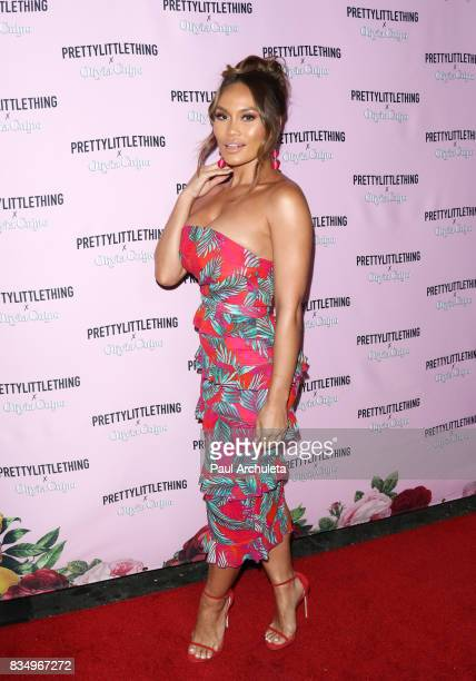 Actress / Model Daphne Joy attends the PrettyLittleThing X launch at Liaison Lounge on August 17 2017 in Los Angeles California