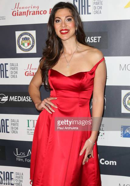 Actress / Model Eleonora Pieroni attends the 12th edition of The Los Angeles Italia Film Fashion and Art Fest closing nite at TCL Chinese 6 Theatres...