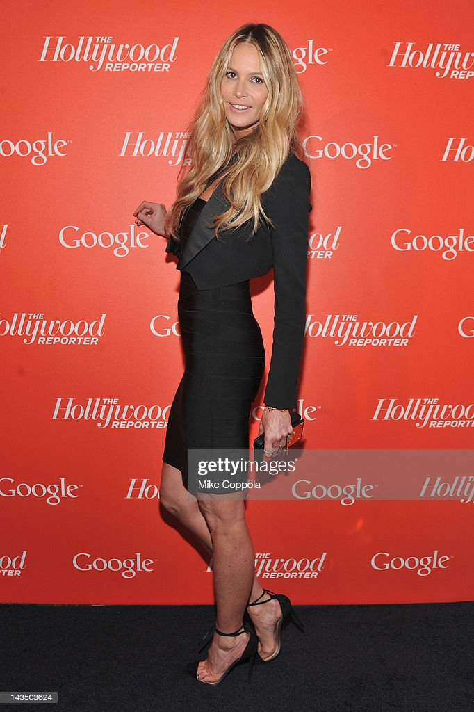 Actress, model Elle Macpherson attends Google & Hollywood Reporter Host an Evening Celebrating The White House Correspondents' Weekend on April 27, 2012 in Washington, DC.