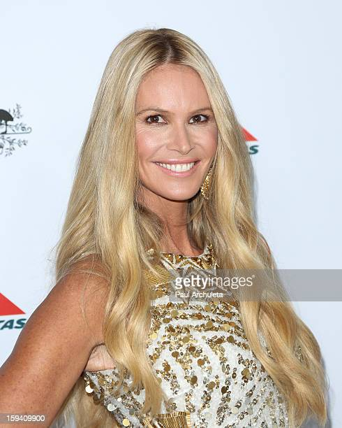 Actress / Model Elle Macpherson attends the 2013 G'Day USA Los Angeles Black Tie Gala at JW Marriott Los Angeles at LA LIVE on January 12 2013 in Los...
