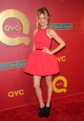 Actress / Model Jasmine Dustin attends the QVC 5th Annual Red Carpet Style event at The Four Seasons Hotel on February 28 2014 in Beverly Hills...