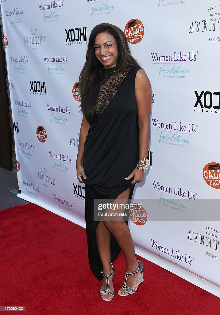 Actress / Model Nadia Dawn attends the Women Like Us Foundation's One Girl At A Time fundraiser at The Aventine Hollywood on July 30, 2013 in Hollywood, California.