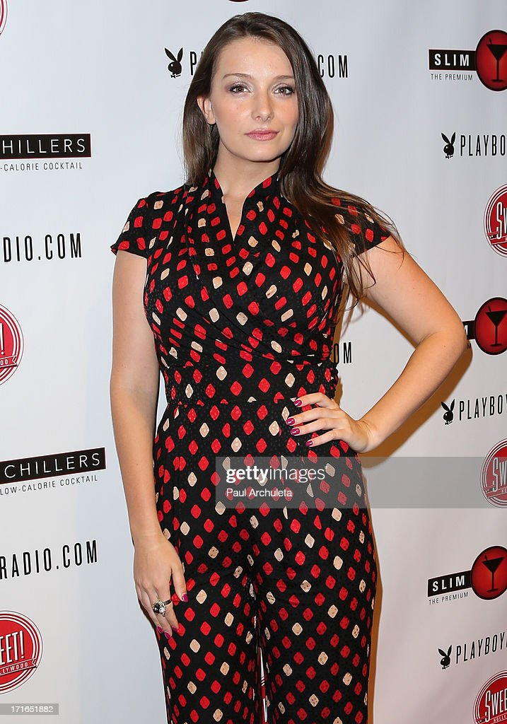 Actress / Model Rachel Mullins attends the Birthday Party for Playboy Radio and TV Personality Jessica Hall at Sweet Candy store on June 26, 2013 in Hollywood, California.
