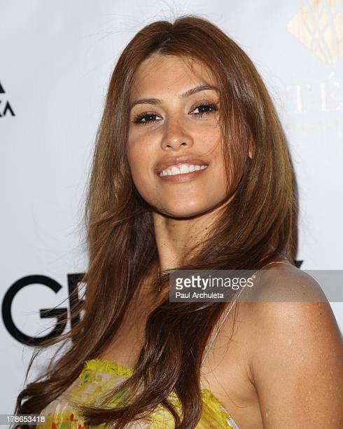 Actress / Model Rachel Sterling attends the Genlux Magazine release party at Sofitel Hotel on August 29 2013 in Los Angeles California