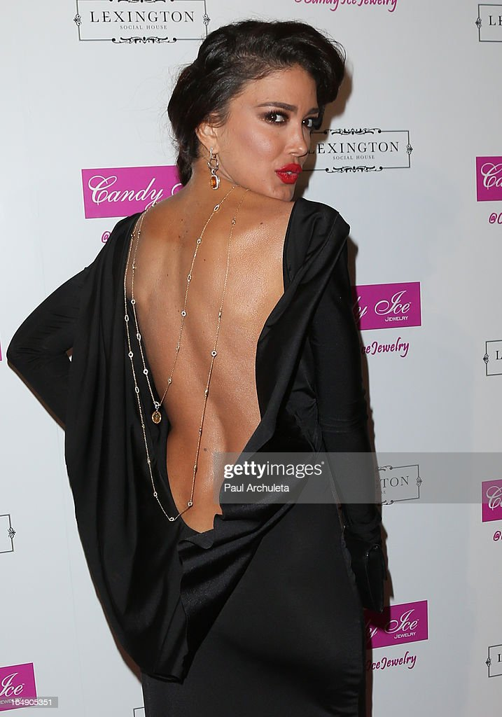 Actress / Model Sahar Biniaz attends the Fire & Ice Gala Benefiting Fresh2o at the Lexington Social House on March 28, 2013 in Hollywood, California.