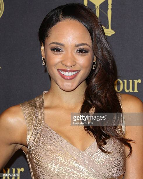Actress / Model Sal Stowers attends the 'Days Of Our Lives' 50th Anniversary at Hollywood Palladium on November 7 2015 in Los Angeles California