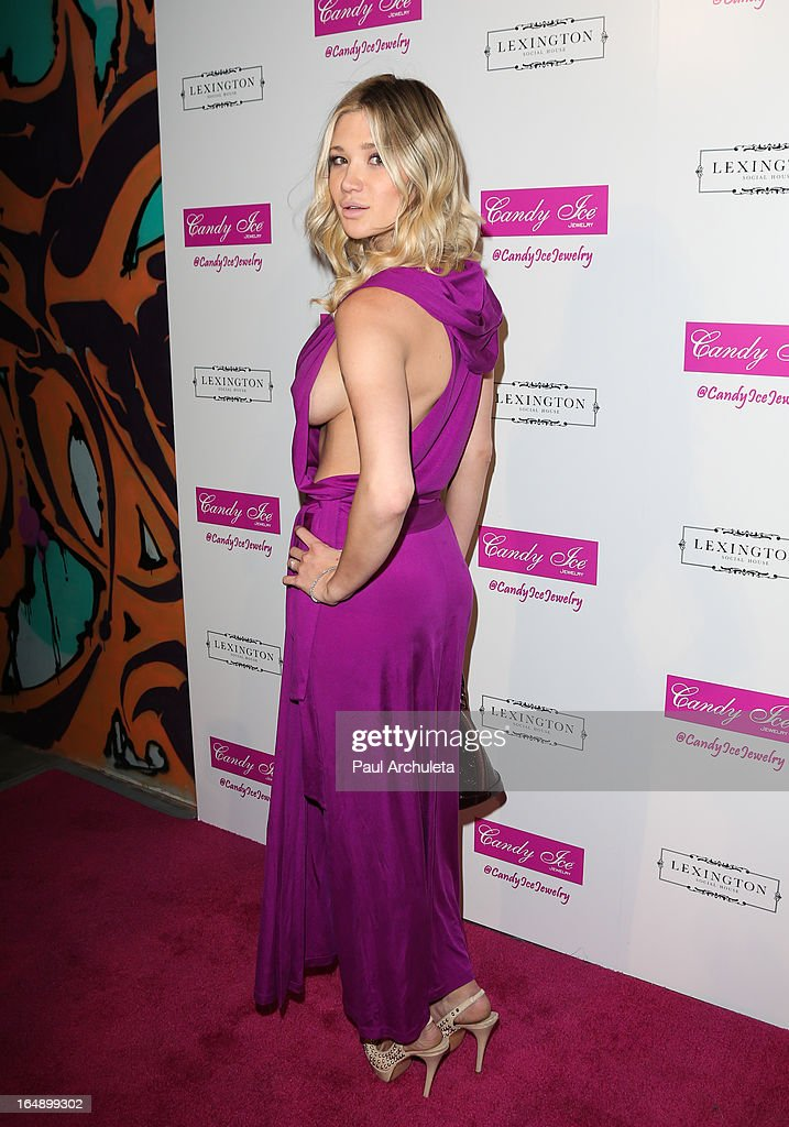 Actress / Model Victoria Rays attends the Fire & Ice Gala Benefiting Fresh2o at the Lexington Social House on March 28, 2013 in Hollywood, California.
