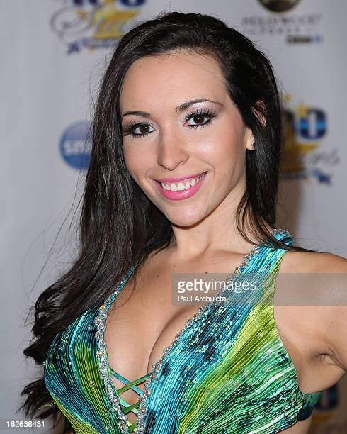 Actress / Model Yenitza Munoz attends the 23rd annual Night Of 100 Stars Oscars viewing gala at the Beverly Hills Hotel on February 24 2013 in...