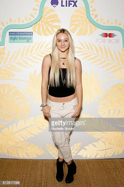 Actress Mollee Gray attends Kari Feinstein's Style Lounge presented by LIFX on February 26 2016 in Los Angeles California