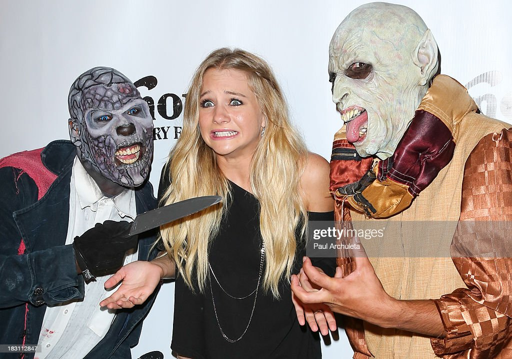 Actress Mollee Gray attends the VIP opening of Knott's Scary Farm HAUNT at Knott's Berry Farm on October 3, 2013 in Buena Park, California.
