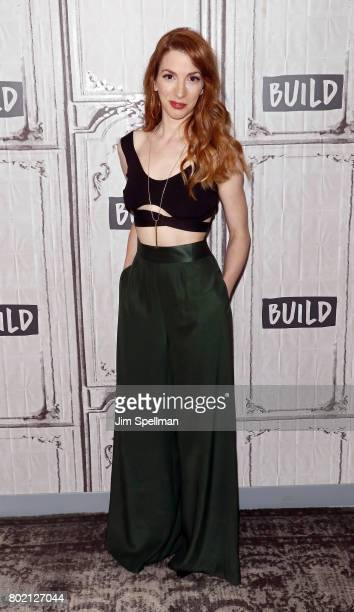 Actress Molly Bernard attends Build to discuss 'Younger' at Build Studio on June 27 2017 in New York City