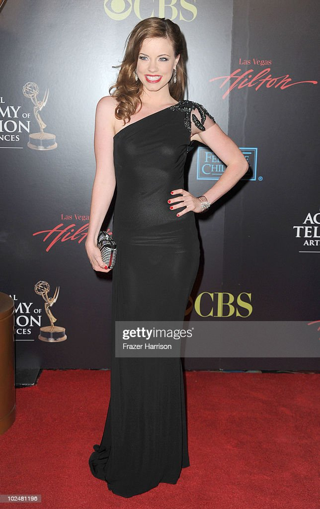 Actress Molly Burnett arrives at the 37th Annual Daytime Entertainment Emmy Awards held at the Las Vegas Hilton on June 27, 2010 in Las Vegas, Nevada.