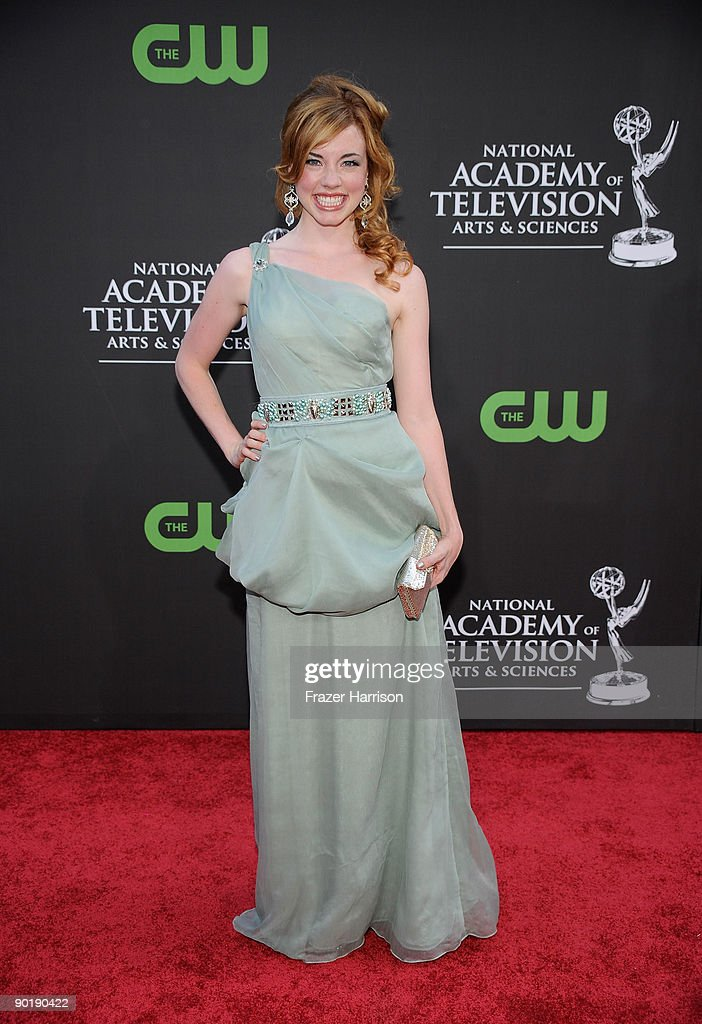 Actress Molly Burnett attends the 36th Annual Daytime Emmy Awards at The Orpheum Theatre on August 30, 2009 in Los Angeles, California.