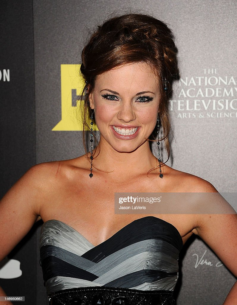 Actress Molly Burnett attends the 39th annual Daytime Emmy Awards at The Beverly Hilton Hotel on June 23, 2012 in Beverly Hills, California.