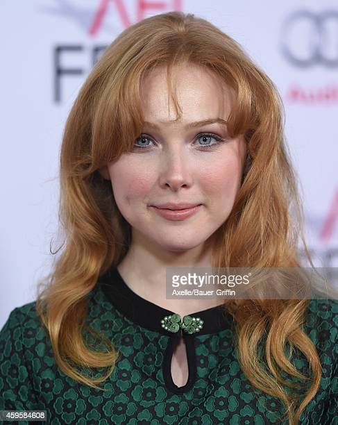 Actress Molly C Quinn arrives at the AFI FEST 2014 Presented By Audi 'The Homesman' Premiere at Dolby Theatre on November 11 2014 in Hollywood...