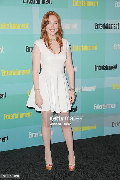 Actress Molly C Quinn arrives at the Entertainment Weekly celebration at Float at Hard Rock Hotel San Diego on July 11 2015 in San Diego California