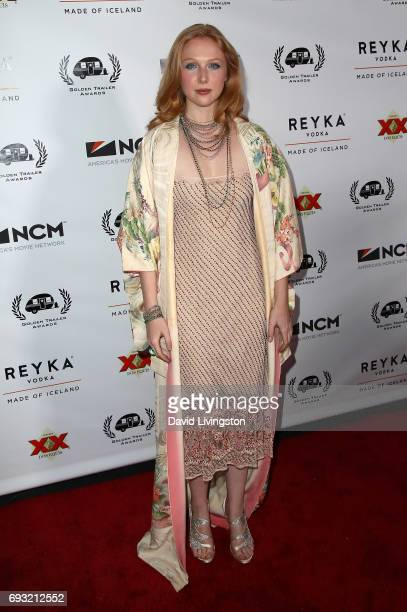 Actress Molly C Quinn attends the 18th Annual Golden Trailer Awards at the Saban Theatre on June 6 2017 in Beverly Hills California