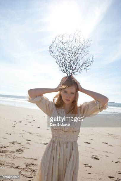 Actress Molly C Quinn is photographed for Self Assignment on January 29 2010 in El Segundo California