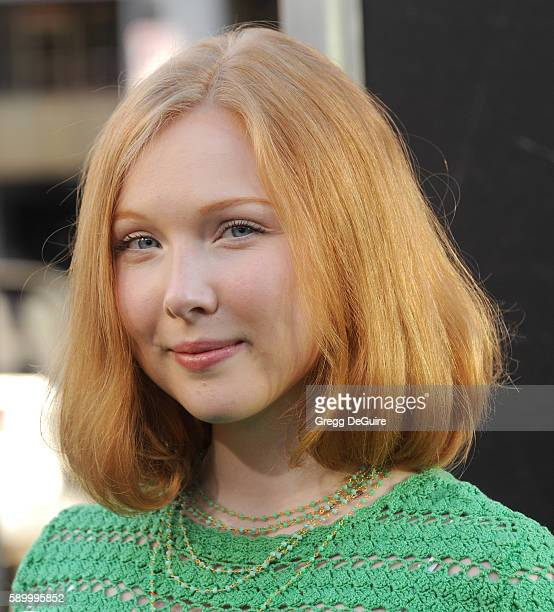 Actress Molly Quinn arrives at the premiere of Warner Bros Pictures' 'War Dogs' at TCL Chinese Theatre on August 15 2016 in Hollywood California