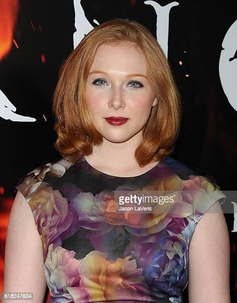 Actress Molly Quinn attends a screening of 'Inferno' at DGA Theater on October 25 2016 in Los Angeles California