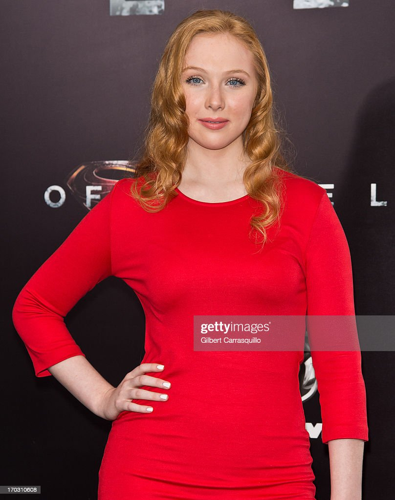 Actress <a gi-track='captionPersonalityLinkClicked' href=/galleries/search?phrase=Molly+Quinn&family=editorial&specificpeople=5744896 ng-click='$event.stopPropagation()'>Molly Quinn</a> attends 'Man Of Steel' World Premiere at Alice Tully Hall at Lincoln Center on June 10, 2013 in New York City.