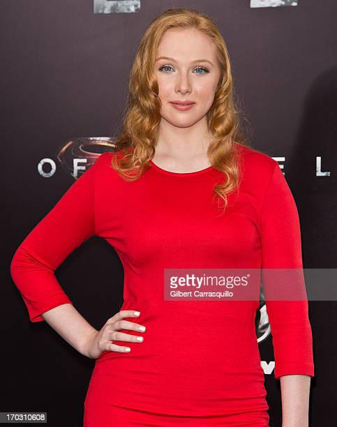 Actress Molly Quinn attends 'Man Of Steel' World Premiere at Alice Tully Hall at Lincoln Center on June 10 2013 in New York City