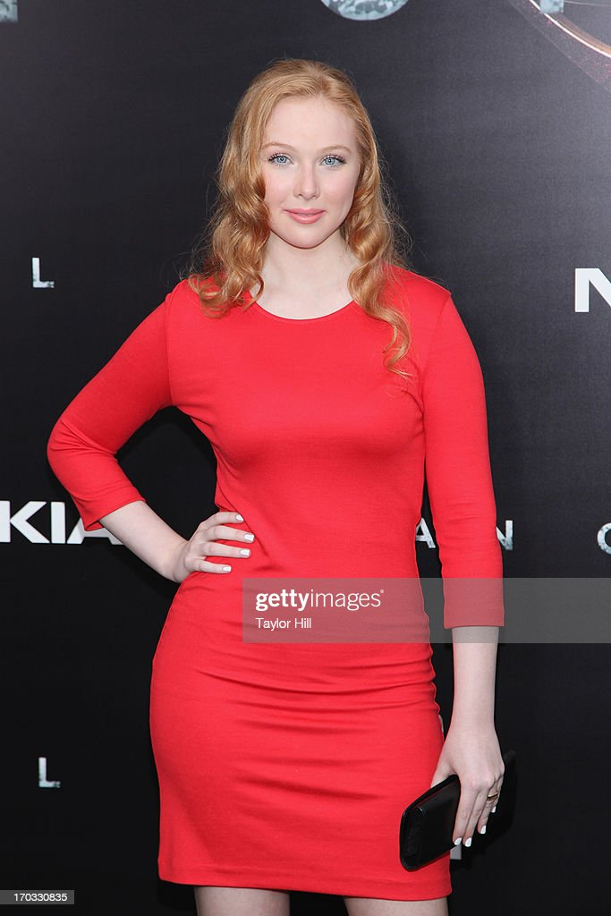 Actress Molly Quinn attends 'Man Of Steel' World Premiere at Alice Tully Hall at Lincoln Center on June 10, 2013 in New York City.