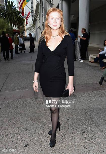 Actress Molly Quinn attends the Academy of Television Arts Sciences' Costume Design Nominee Reception at FIDM Museum Galleries on the Park on July 19...