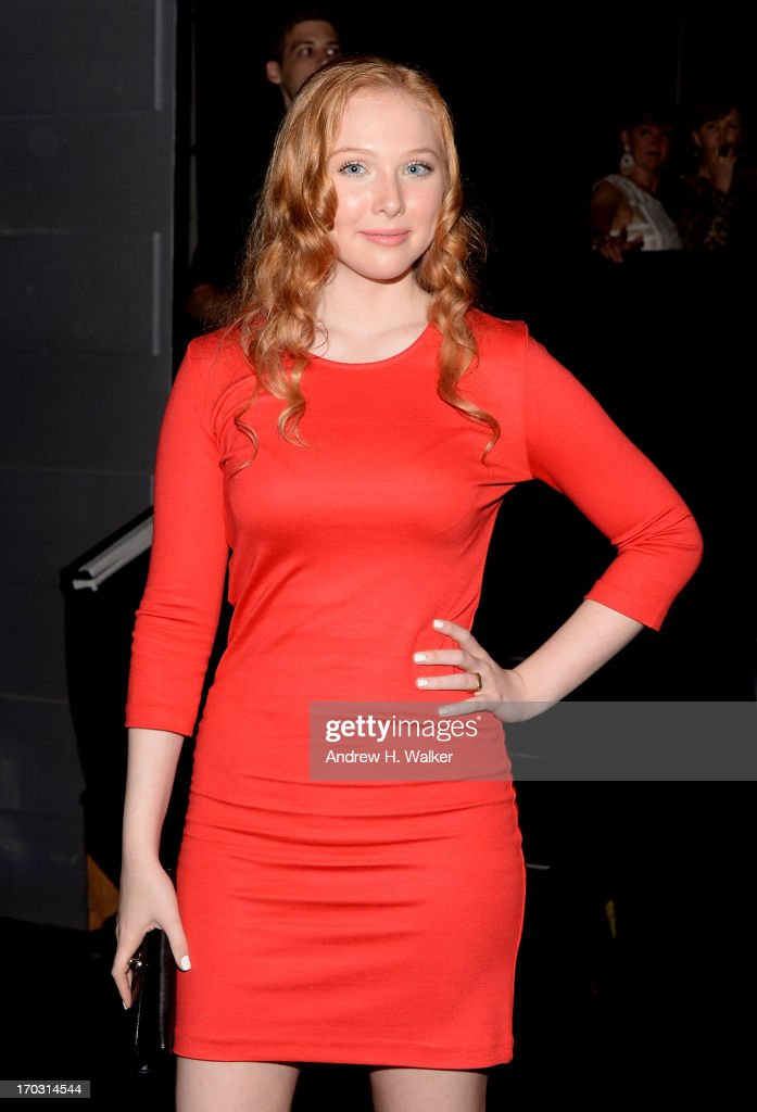 Actress <a gi-track='captionPersonalityLinkClicked' href=/galleries/search?phrase=Molly+Quinn&family=editorial&specificpeople=5744896 ng-click='$event.stopPropagation()'>Molly Quinn</a> attends the 'Man Of Steel' world premiere after party at Skylight at Moynihan Station on June 10, 2013 in New York City.