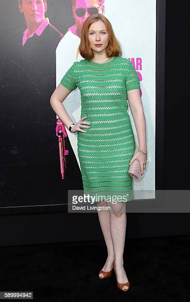 Actress Molly Quinn attends the premiere of Warner Bros Pictures' 'War Dogs' at the TCL Chinese Theatre on August 15 2016 in Hollywood California