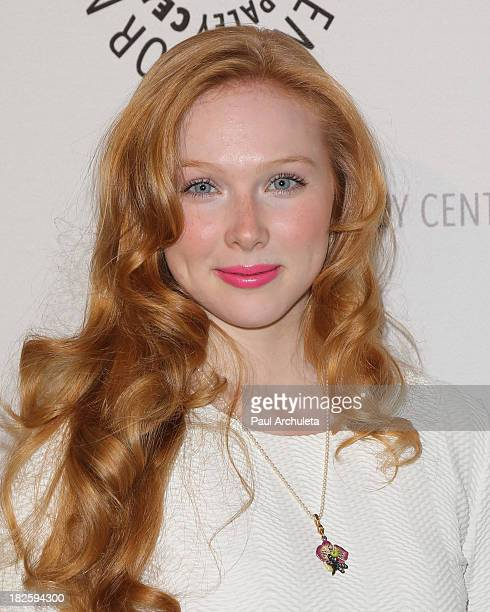 Actress Molly Quinn attends the screening of ABC's 'Castle' at The Paley Center for Media on September 30 2013 in Beverly Hills California