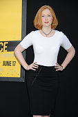 Actress Molly Quinn attends the Warner Bros Pictures premiere of 'Central Intelligence' held at Regency Village Theater on June 10 2016 in Westwood...